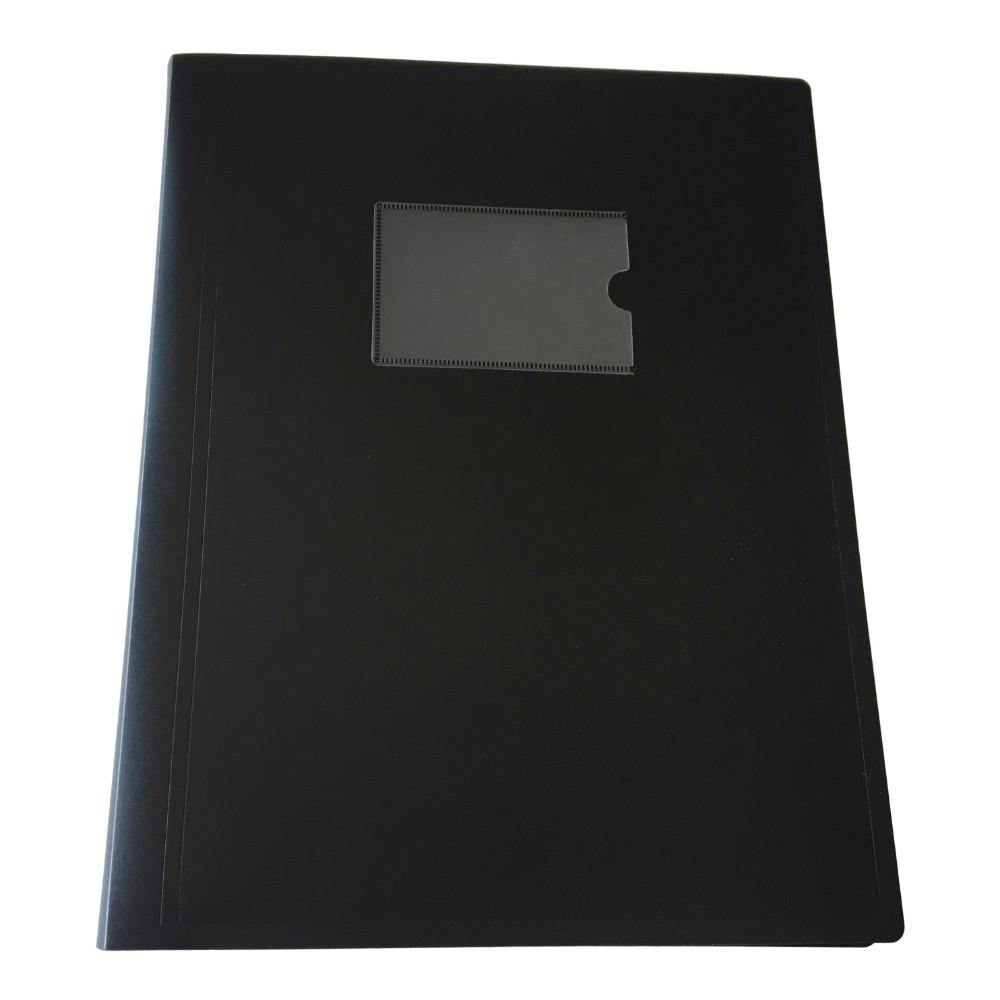 A4 Black Flexible Cover 40 Pocket Display Book