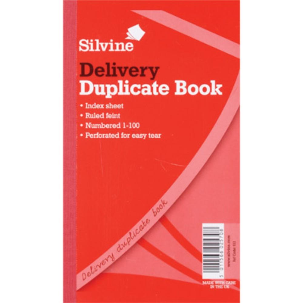 "Duplicate Delivery Book 8.25""x5"""