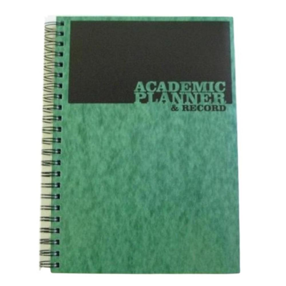 A4 Teacher's 4 Period Green Academic Planner and Record