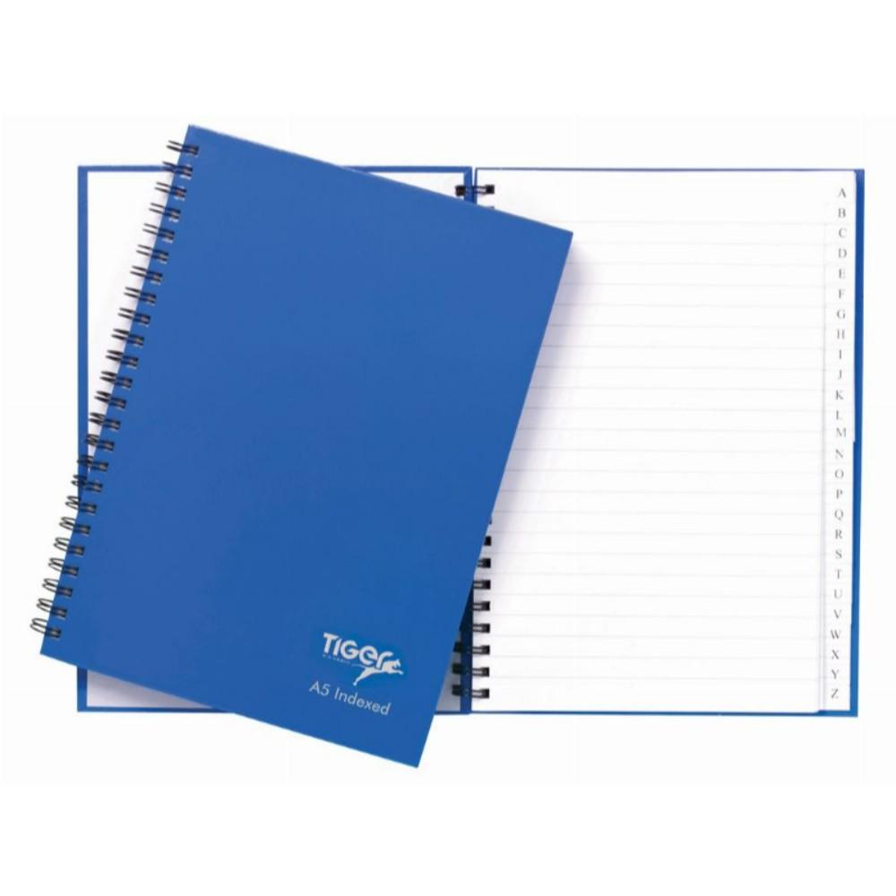 A5 Twinwire A4 80 Sheet Index Notebook