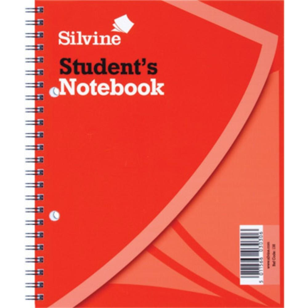 "8""x6.25"" Twin Wire Students Notebook"