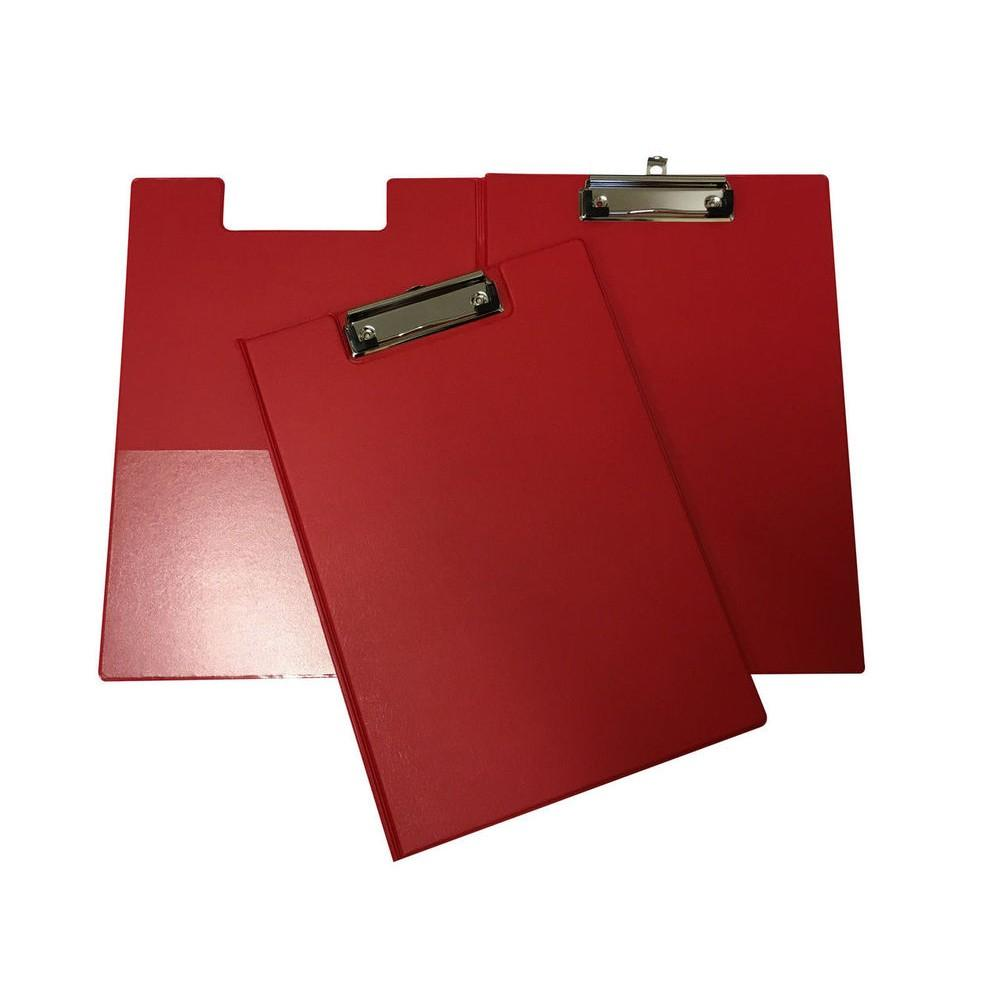 Janrax A4 Red Foldover Clipboard