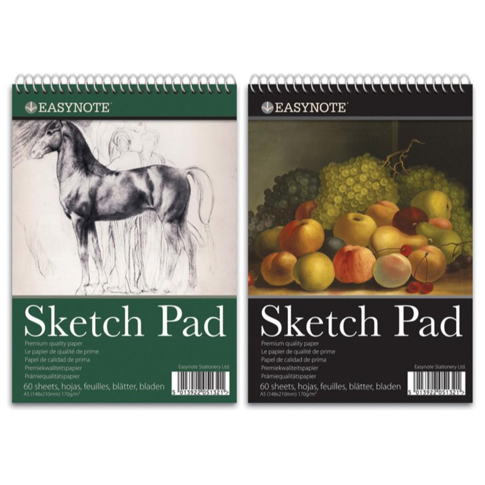 A5 Artists Easynote Sketch Pad