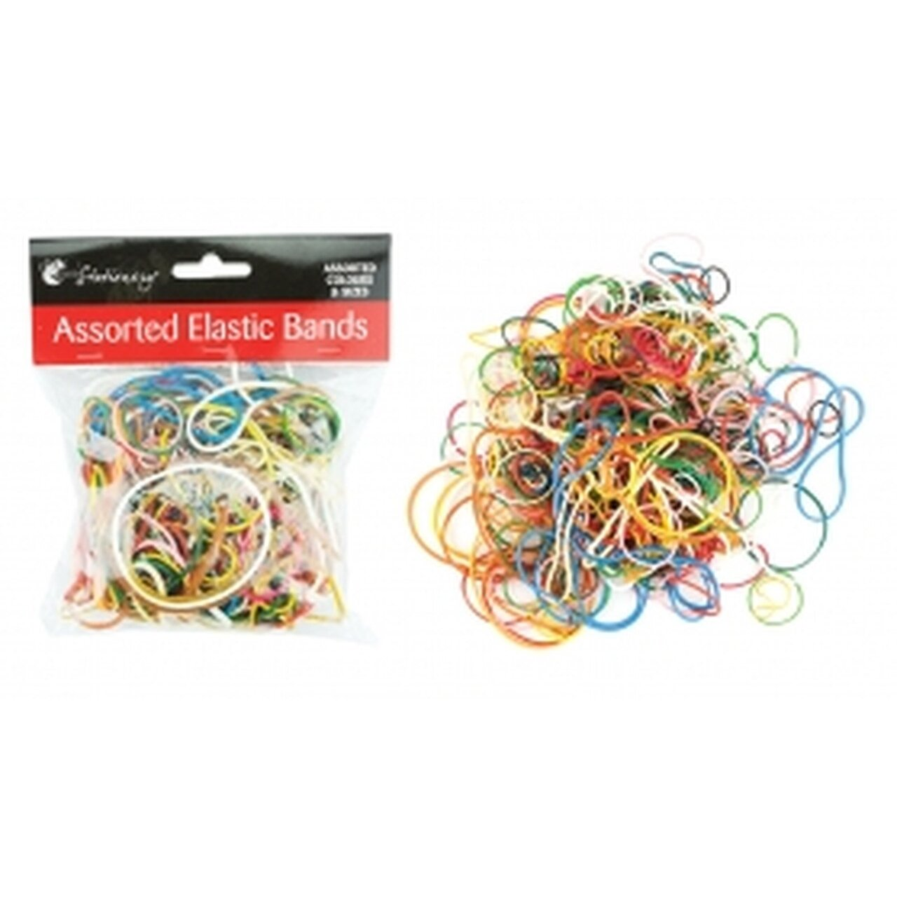 Rubber Band Assorted Colours & Sizes