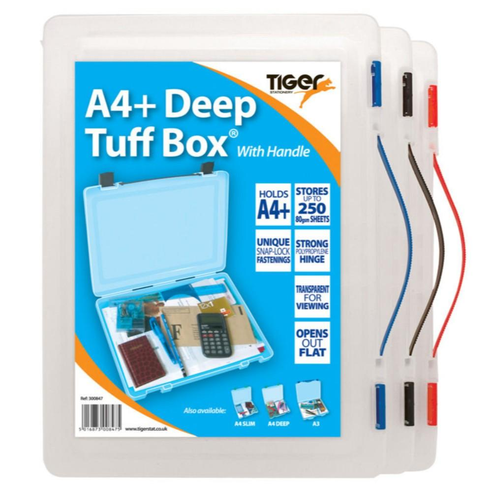 Foolscap/A4+ Tuff Box with Handle