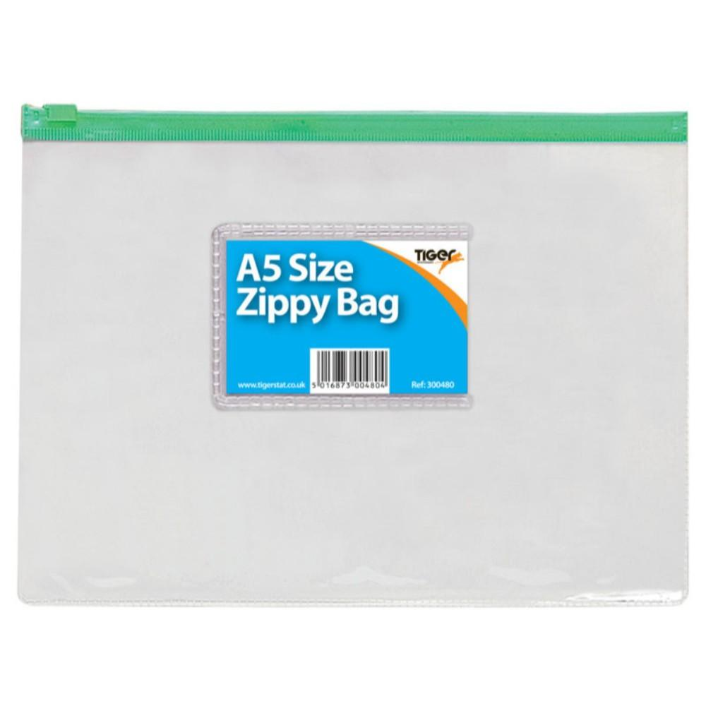 12 x A5 Zippy Bags (Assorted)