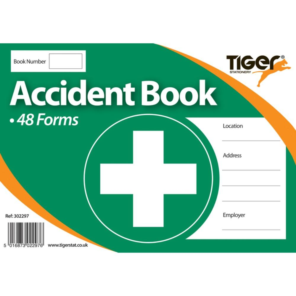 Accident Book with 48 Forms