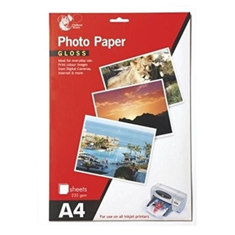 A4 Glossy Photo Paper (12 Sheets)