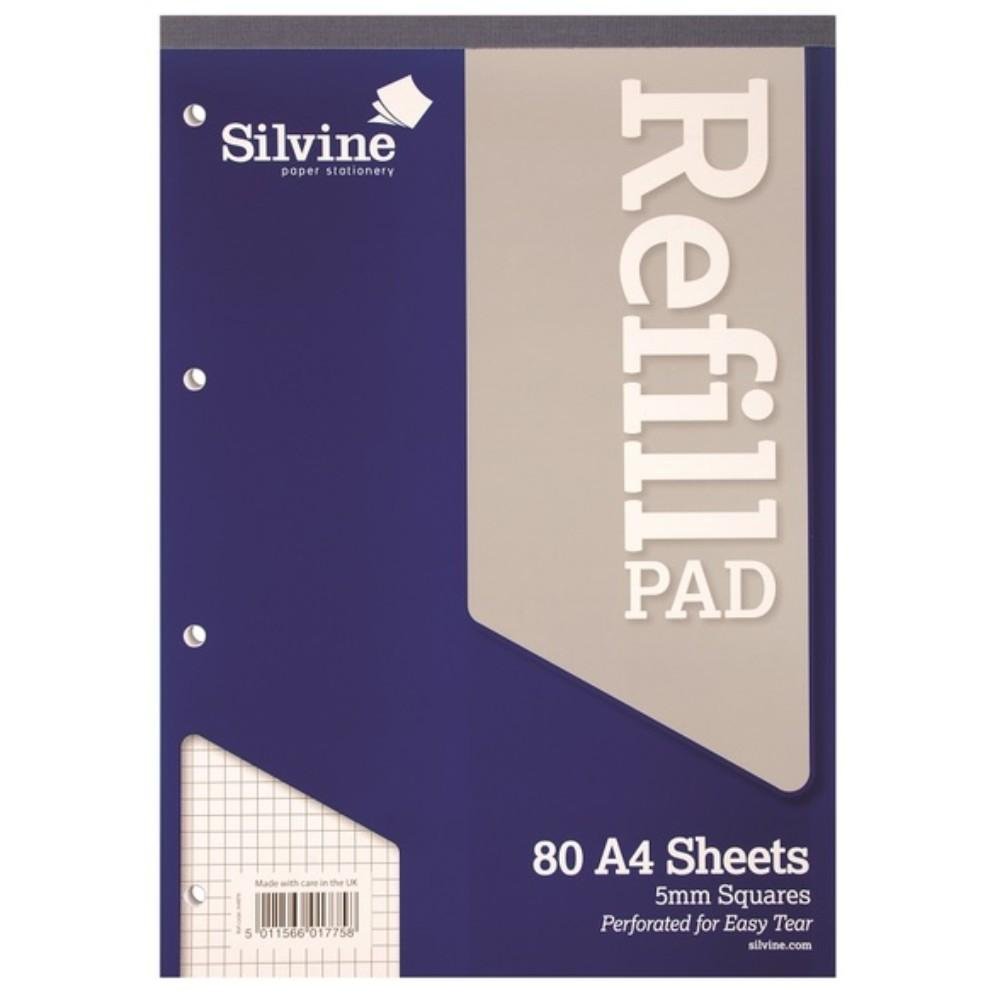 A4 Refill Pad - 5mm Squares