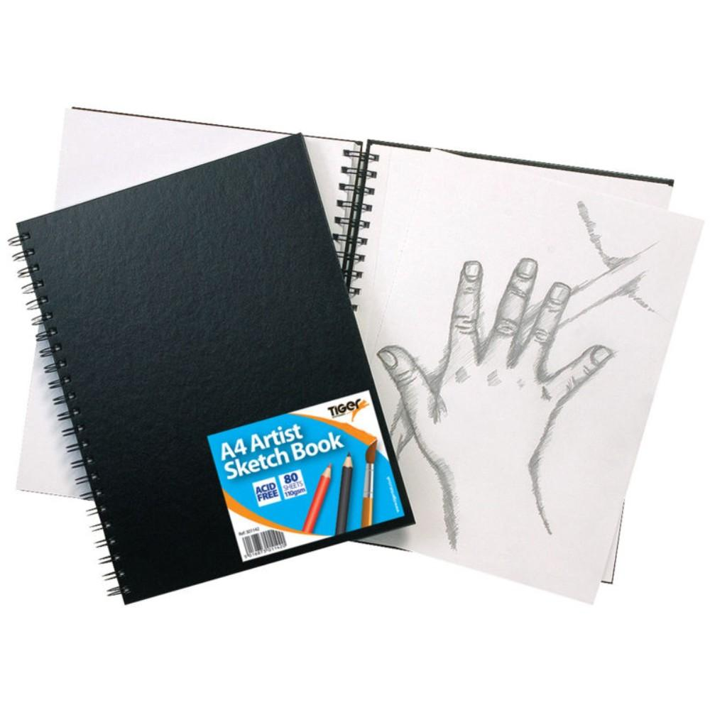 A4 Twinwire Sketch Book