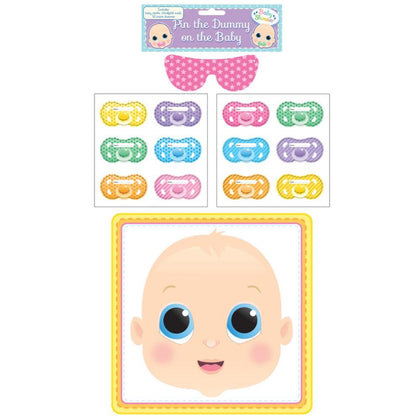 Set of 14 Pieces Pin The Dummy On The Baby