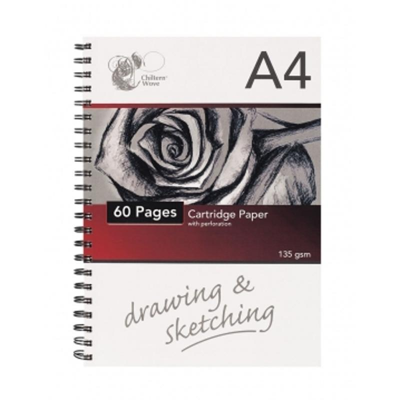 A4 Spiral Sketch Pad (40 Sheets)