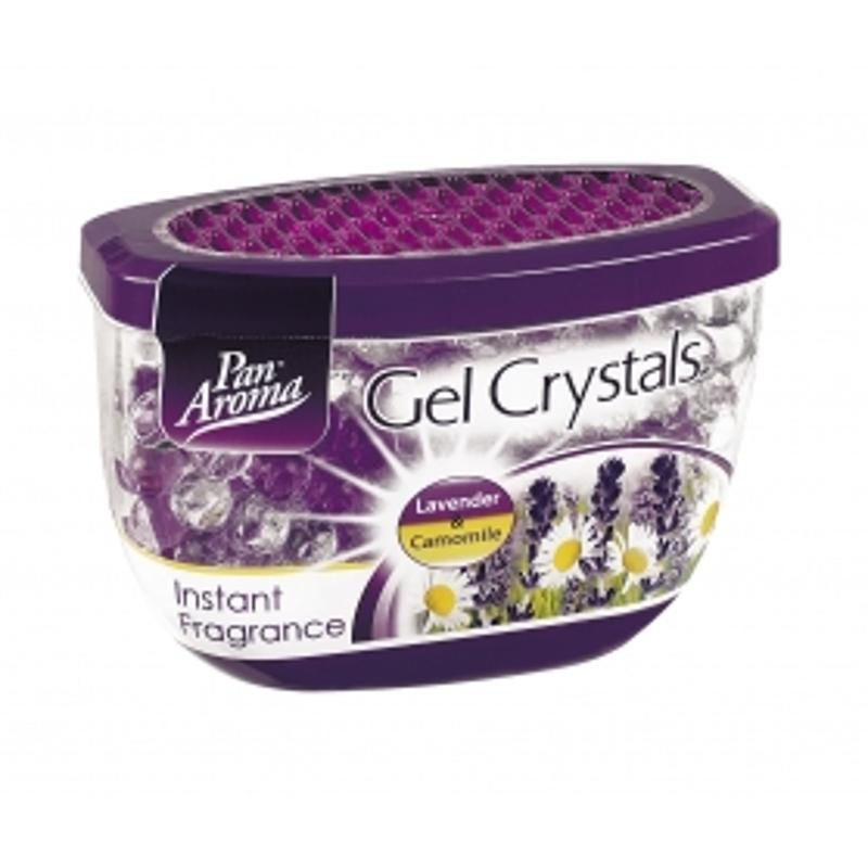 Pan Aroma Gel Crystal Air Fresh Lavendar & Camomile