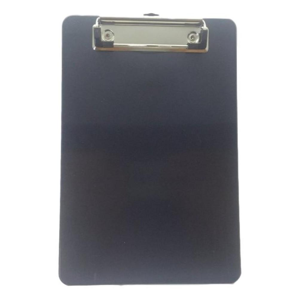 A5 Black Plastic Clipboard With Rule