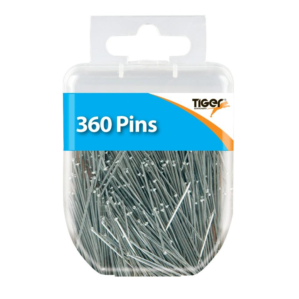 Pack of 360 Silver Pins