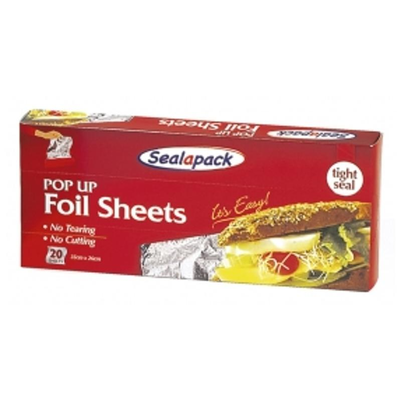 20 Pack Pop Up Foil Sheets