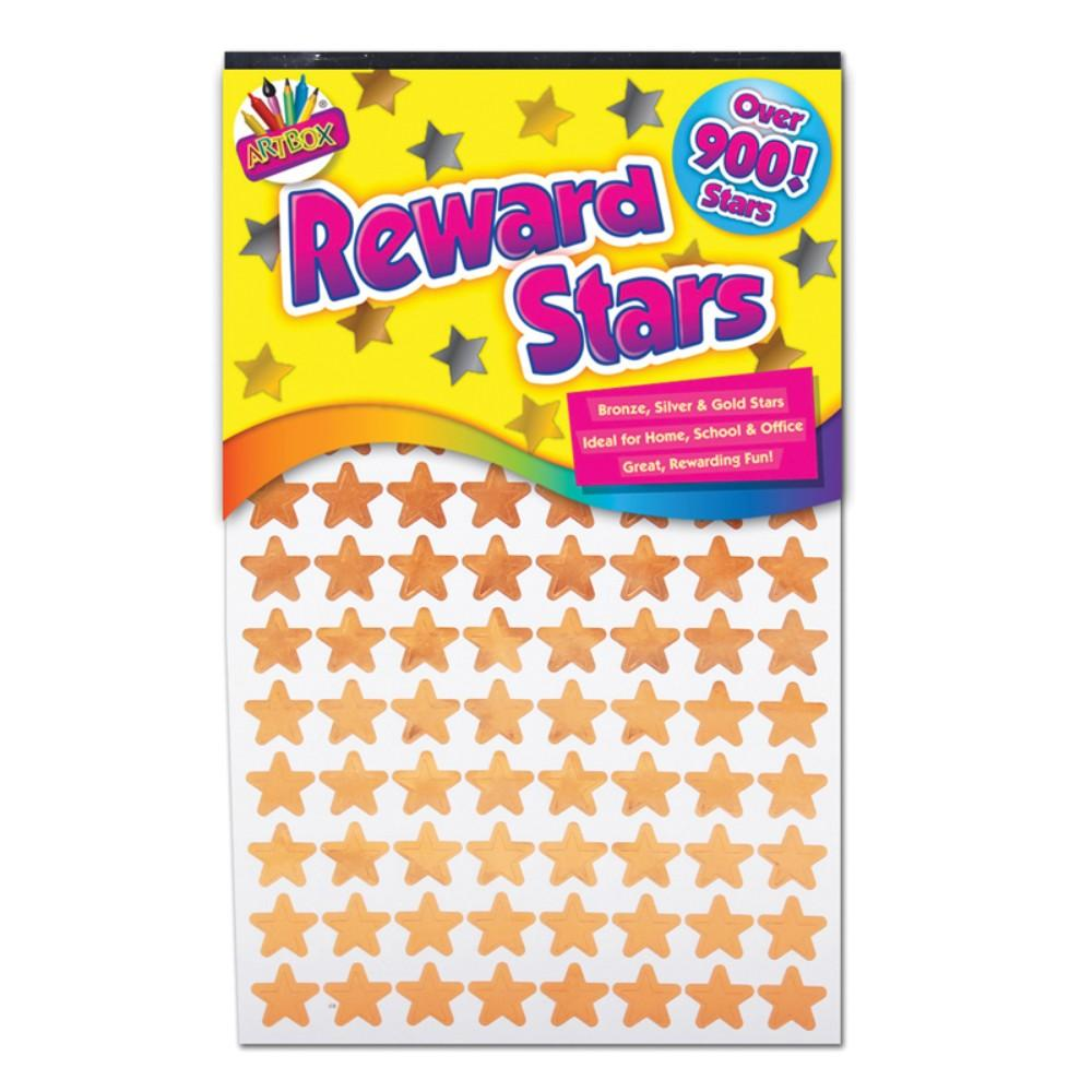 Reward Stars Gold  Silver and Bronze