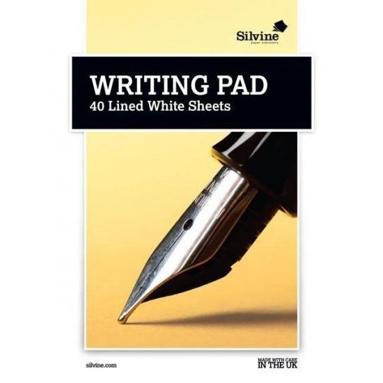 A5 Writing Pad - Lined 40 Sheets