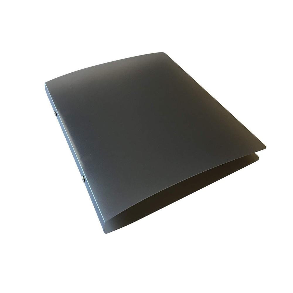 A5 Slim Black Translucent Ringbinder