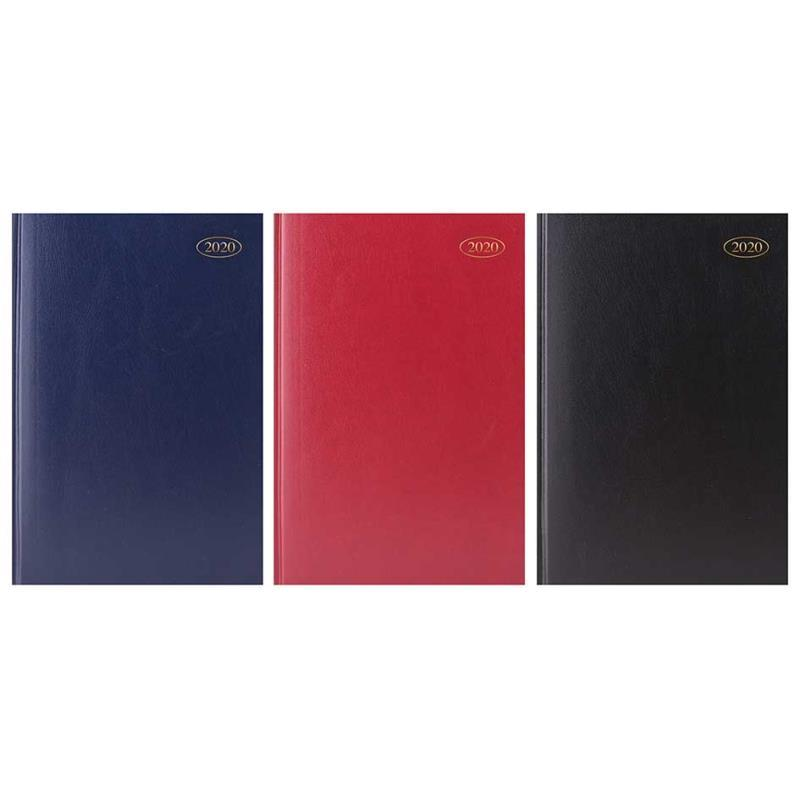 2020 A4 Day A Page Hardback Diary