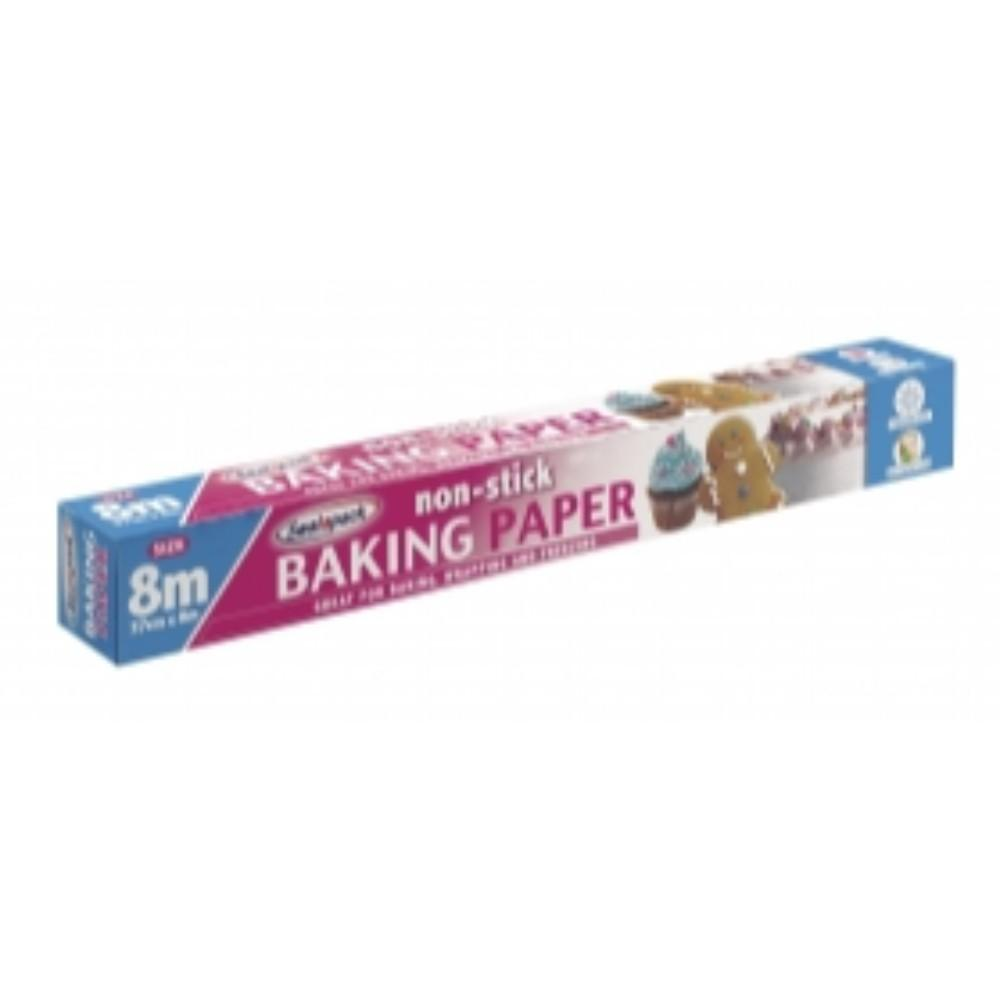 8m Non Stick Baking Paper Roll