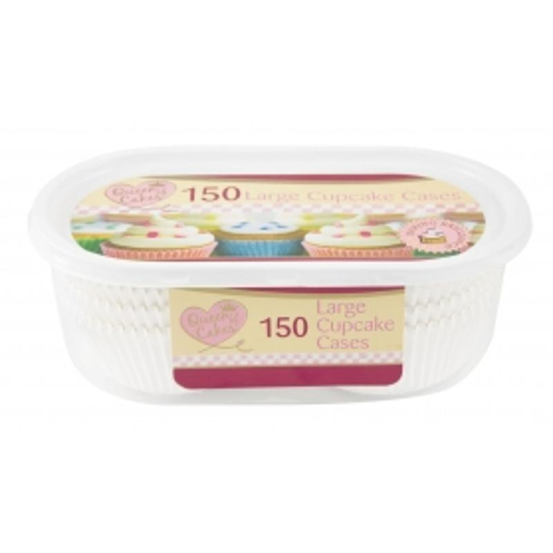 150 Pack Large Cupcake Cases