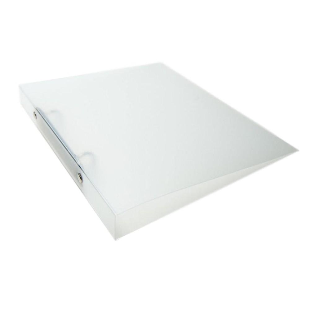 A4 Slim Clear Translucent Ringbinder - Filing Ring Binder Storage