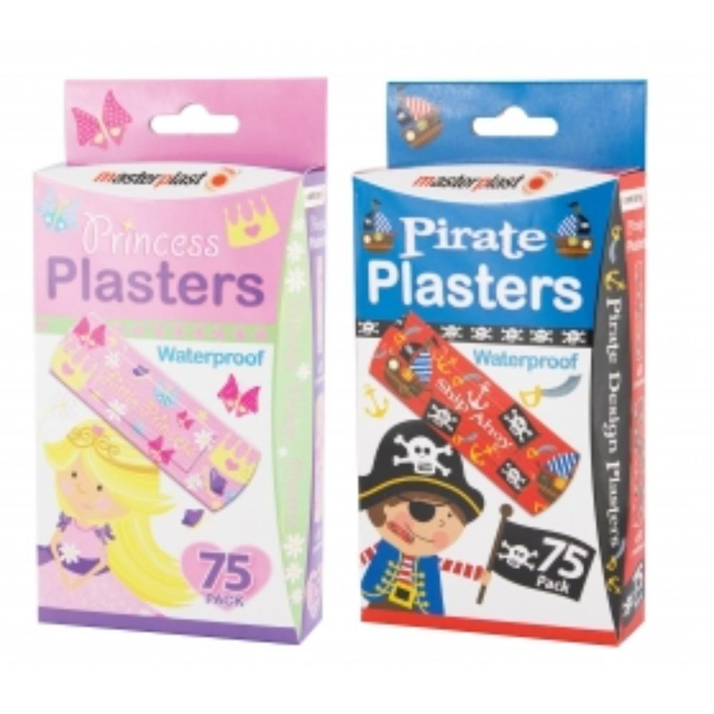 Children's Theme Plasters (75 Pack)
