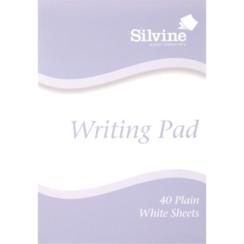 A5 Writing Pad - Plain 40 Sheets