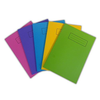 Silvine A5 Colour Essentials Laminated Cover Wipe Clean Exercise Books