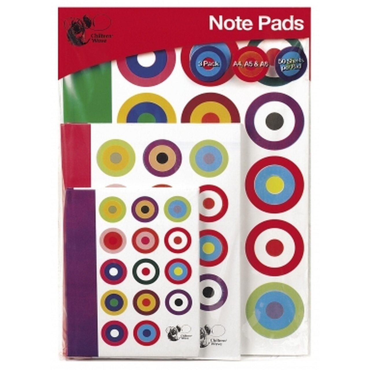 Note Pads A6/A5/A4 (3 Pack)
