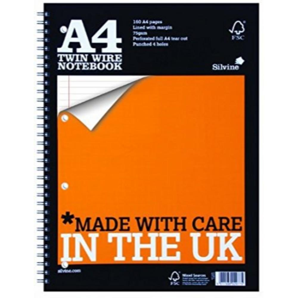 Quality A4 Twin Wire Notebook