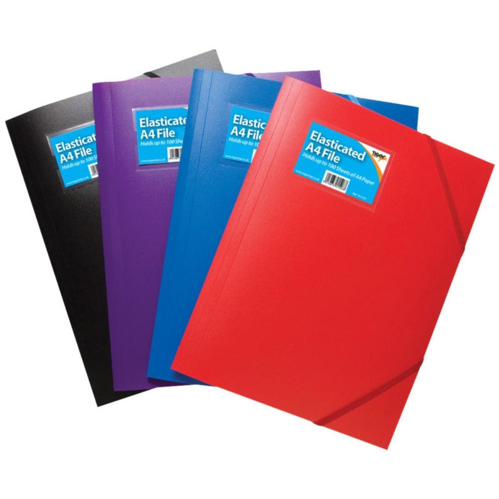 A4 3 Flap Folder Solid Colour
