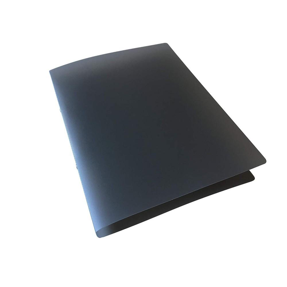 A4 Slim Black Translucent Ringbinder
