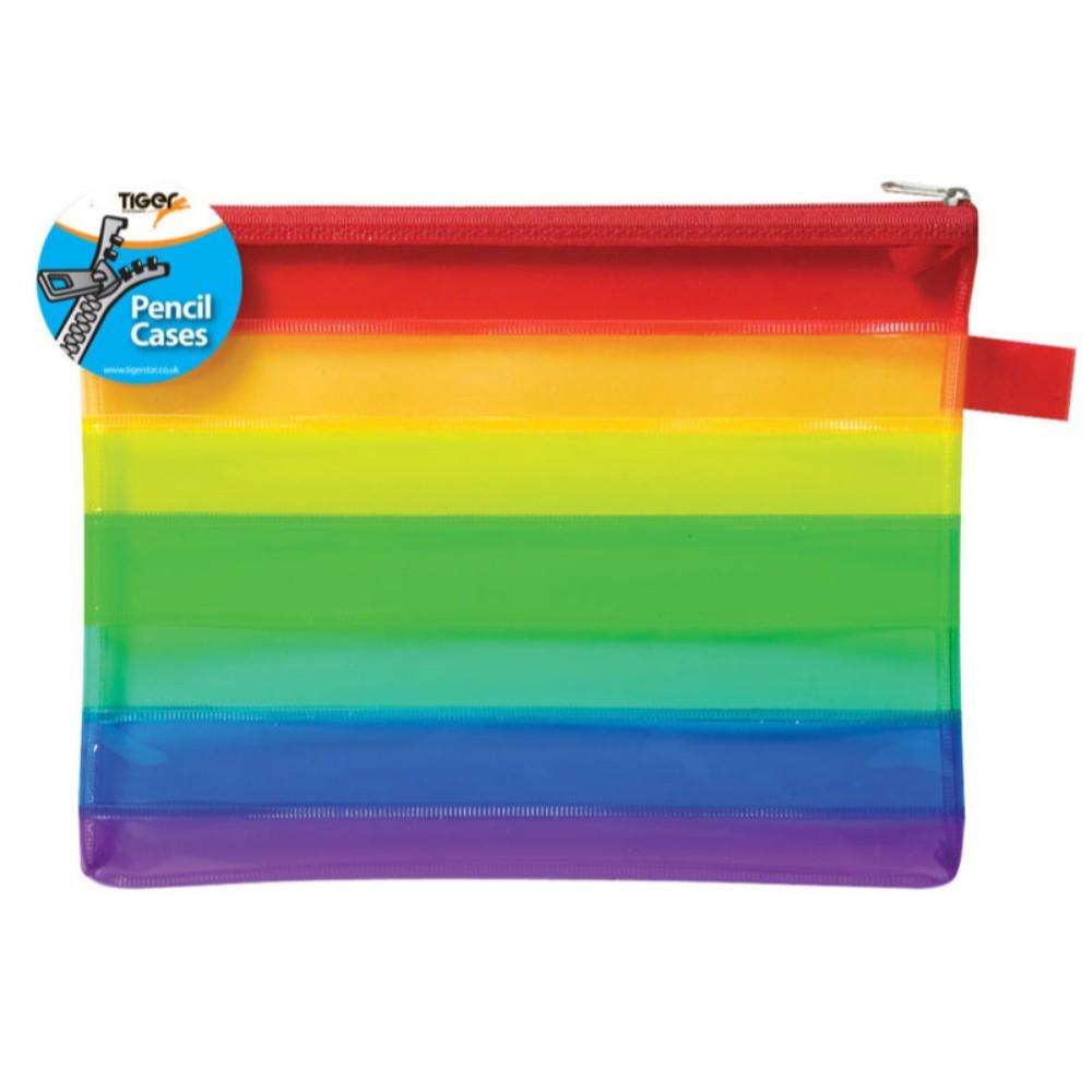 A5 Rainbow Pencil Case Storage