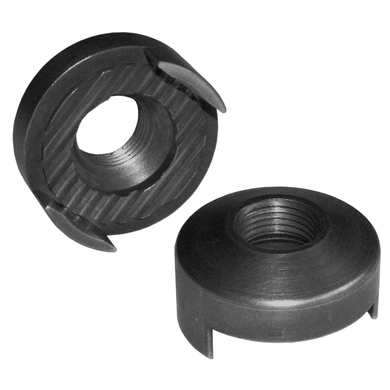 SERRATED NUT FOR ADJUSTABLE SPINDLE ARM