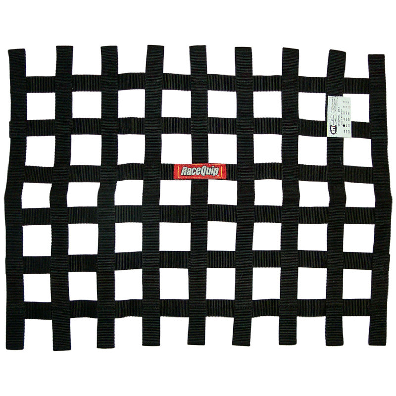 WINDOW NET, STRAP - BLACK17-1/2x22