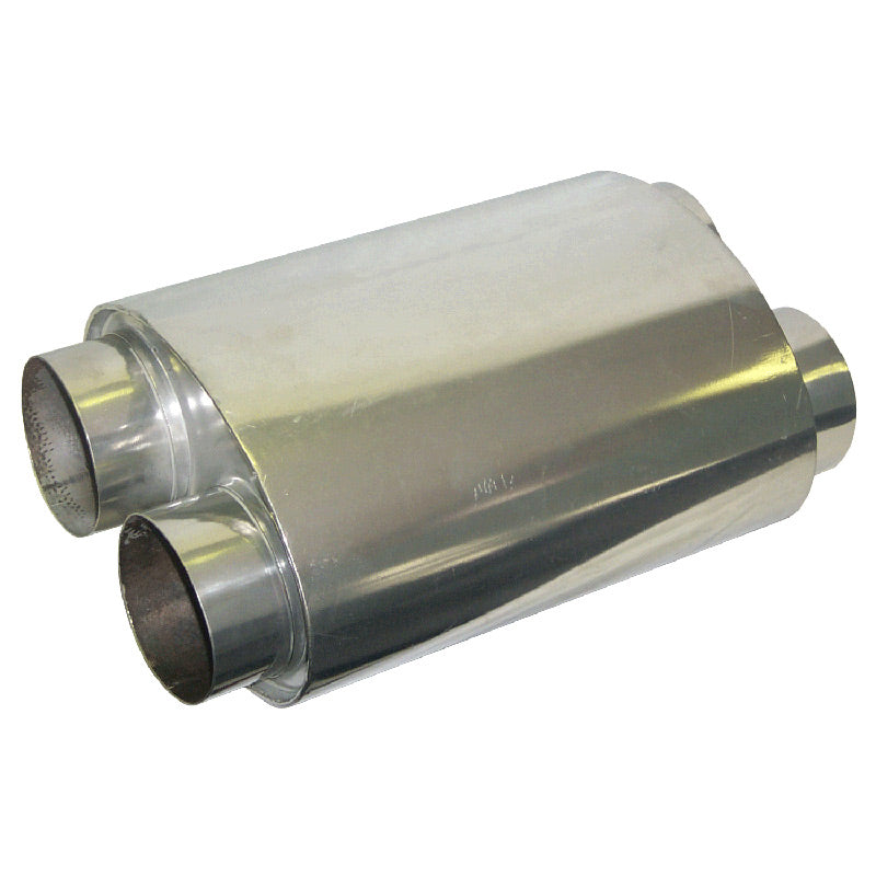 MUFFLER-DOUBLE BARREL 3.5""