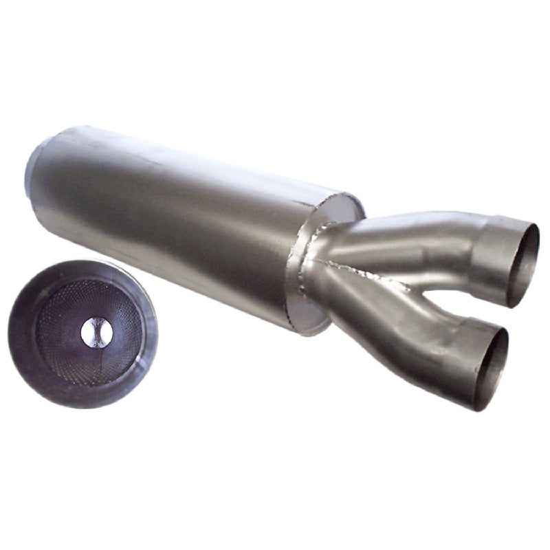 "MUFFLER-Y PIPE ASY-21""-3.0""-5""STAINLESS PACKING"