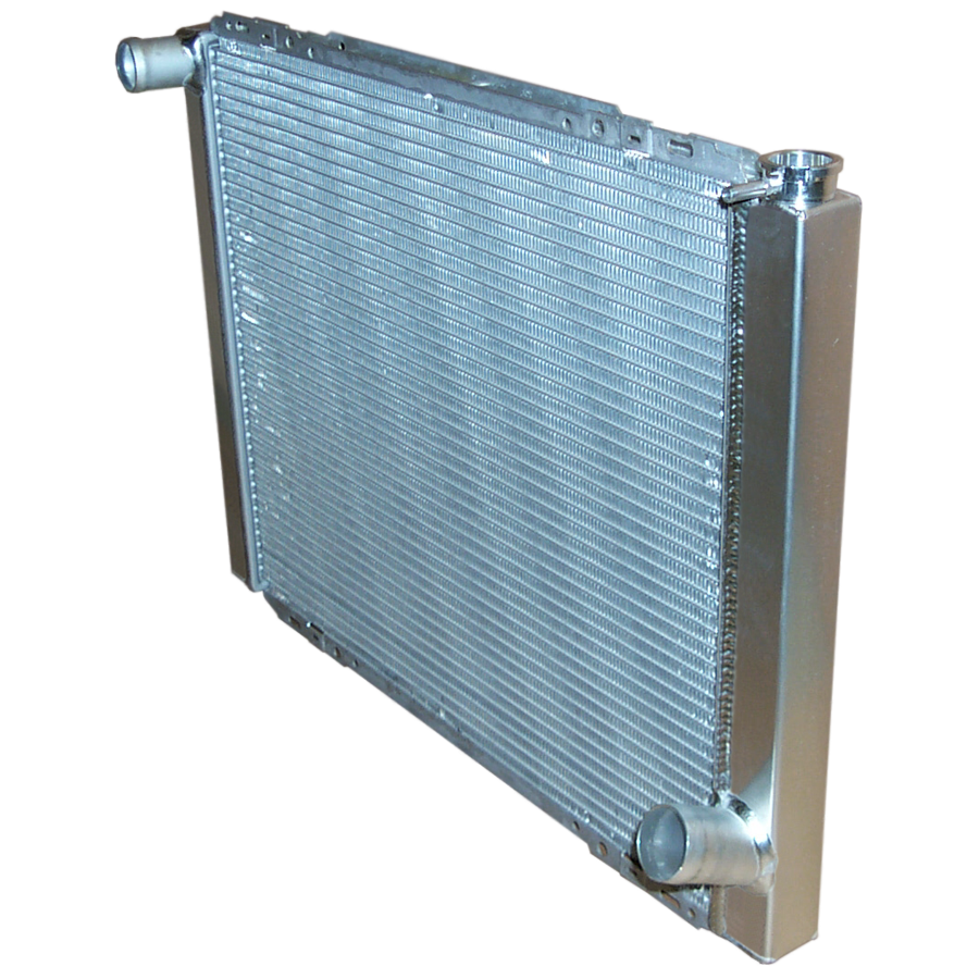IMPORT BUSTER RADIATOR, 19X26 CHEVY SINGLE ROW