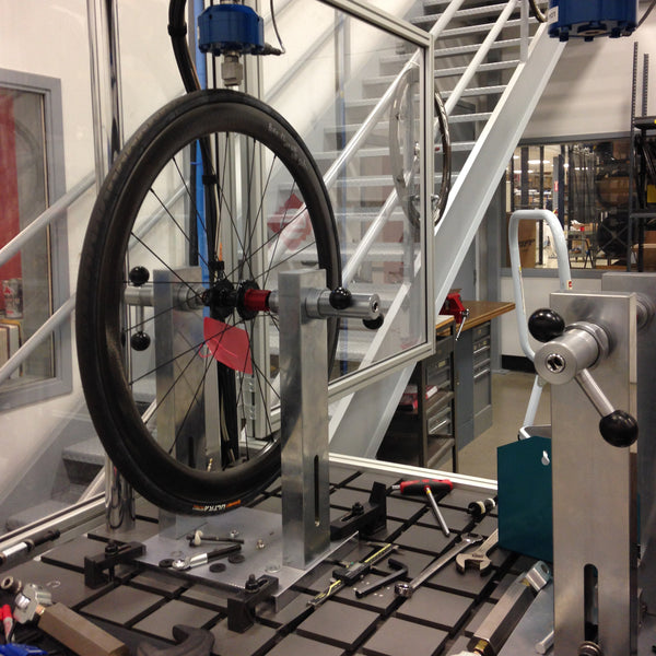 bicycle wheel testing machine