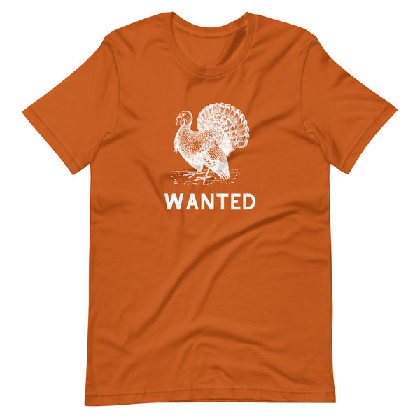 Turkey Wanted Poster Graphic Tee