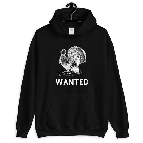 Turkey Wanted Poster Graphic Hoodie