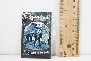 Randomland Special Edition GLOW IN THE DARK Monster Pin!