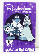 Load image into Gallery viewer, Randomland Glow in the Dark Halloween Pin! 2019 #6
