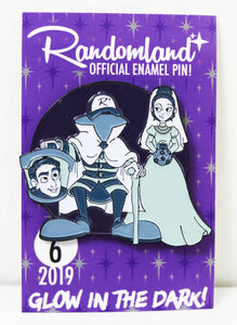 Randomland Glow in the Dark Halloween Pin! 2019 #6