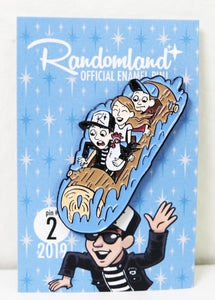 Randomland Log Flume Pin! 2019 #2