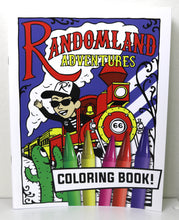 Load image into Gallery viewer, Randomland Coloring Book