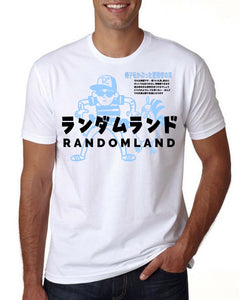Randomland JAPANESE QUEST T-shirt! (NOW AVAILABLE!)