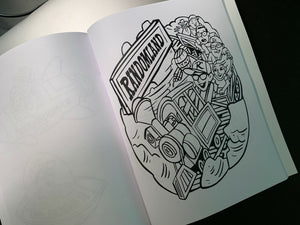 Randomland Coloring Book